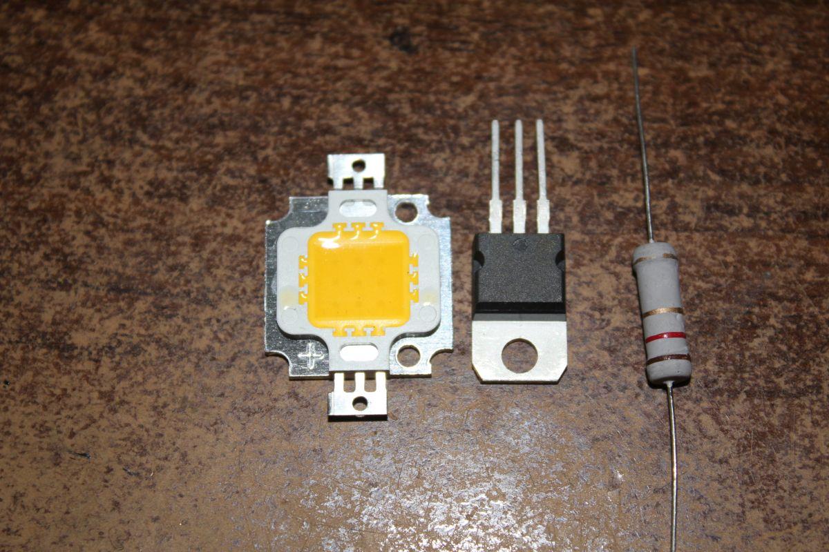 схема подключения светодиодов c lm317t