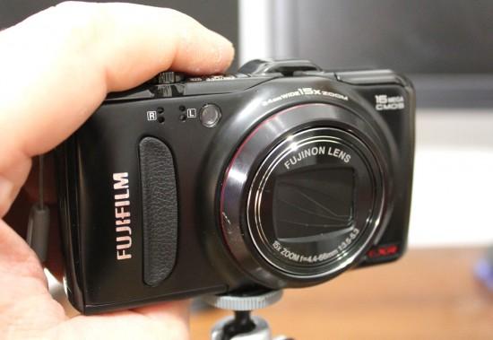 fujifilm 550exr black вид спереди