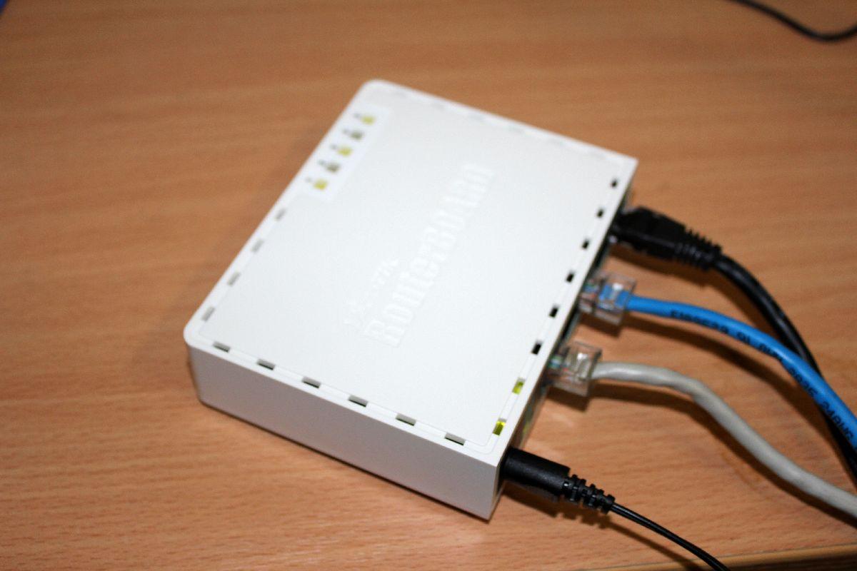 Mikrotik RB750 Picpoolru