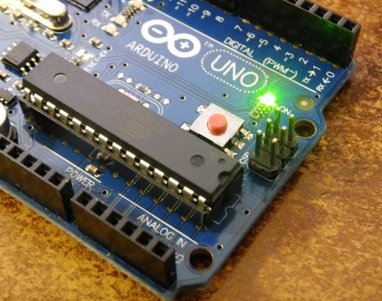 Arduino UNO reset  button