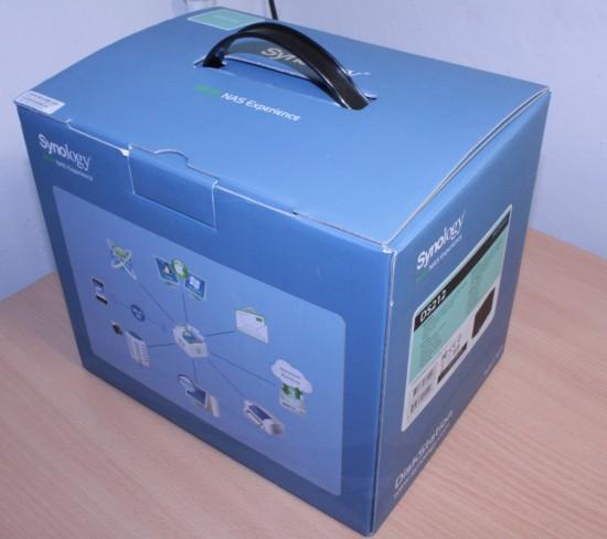 Synology DS212 коробка