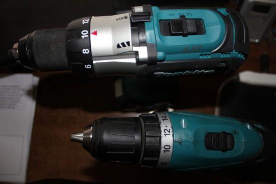 Makita BDF451 и Makita 6281D