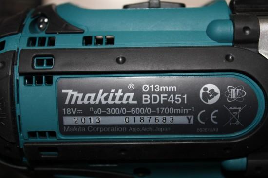 Makita BDF451 - про Китай не слова, ну да, зачем же