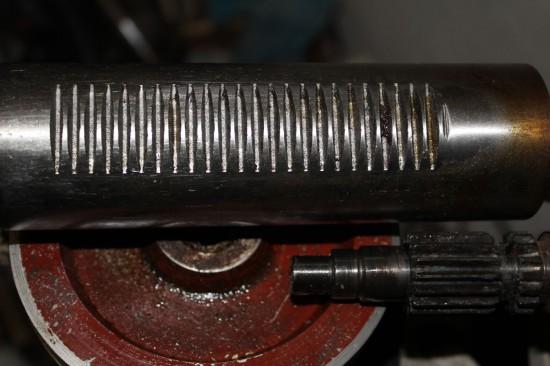 Шпиндель ВСН-1 и ответная часть ручки
