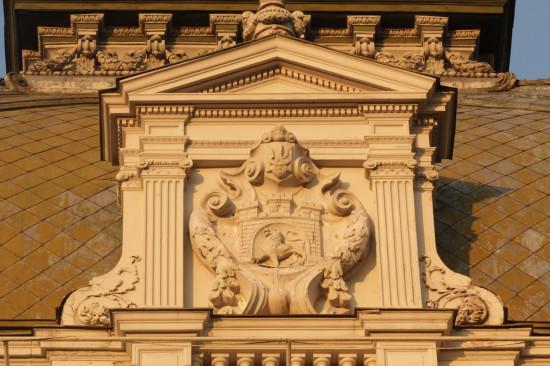 Элемент фасада во Львове