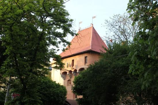 Башня во Львове на проспекте Свободы