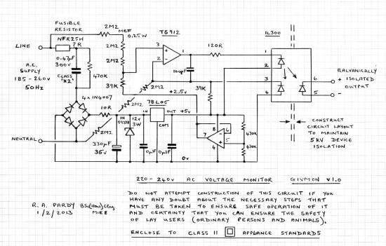 GIVmon v1.0 circuit