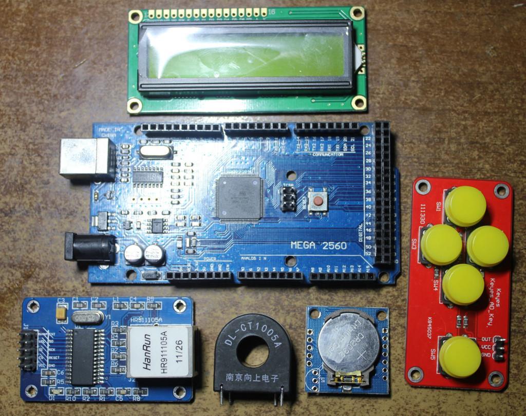 Arduino Blog WiFi Enabled Whole House Power Meter