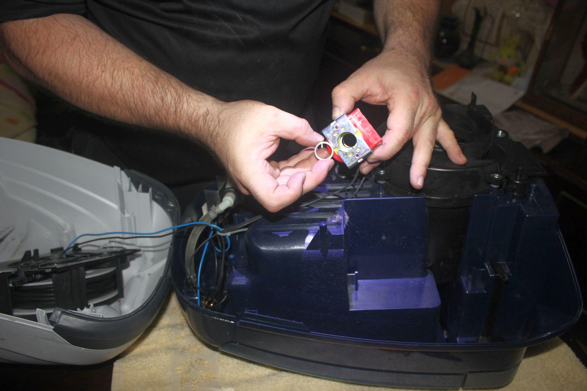 Thomas twin ее aquafilter ремонт своими руками 140