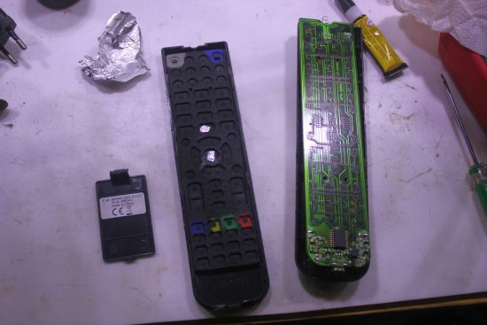 RCCreator remote control - not works ok ater 16 months of home use